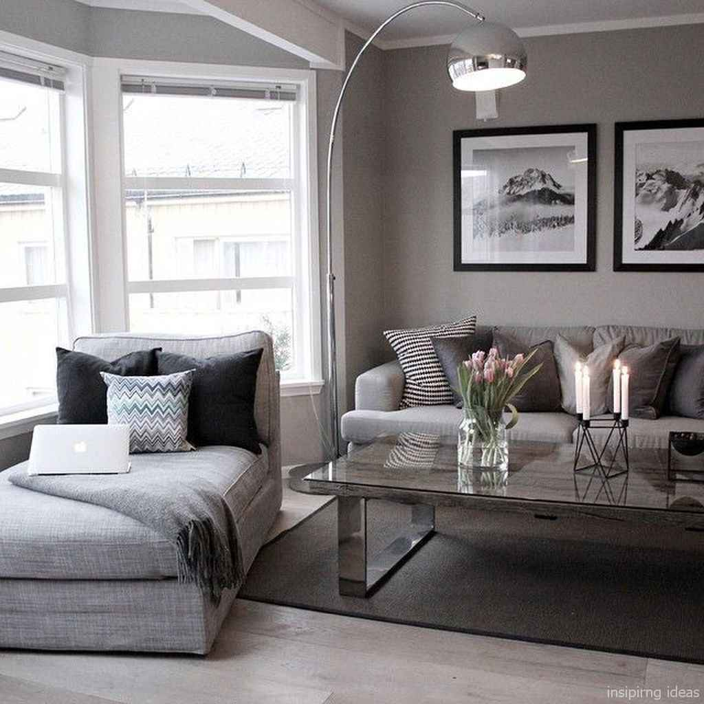 26 Fabulous Modern Gray Living Room Decor Ideas