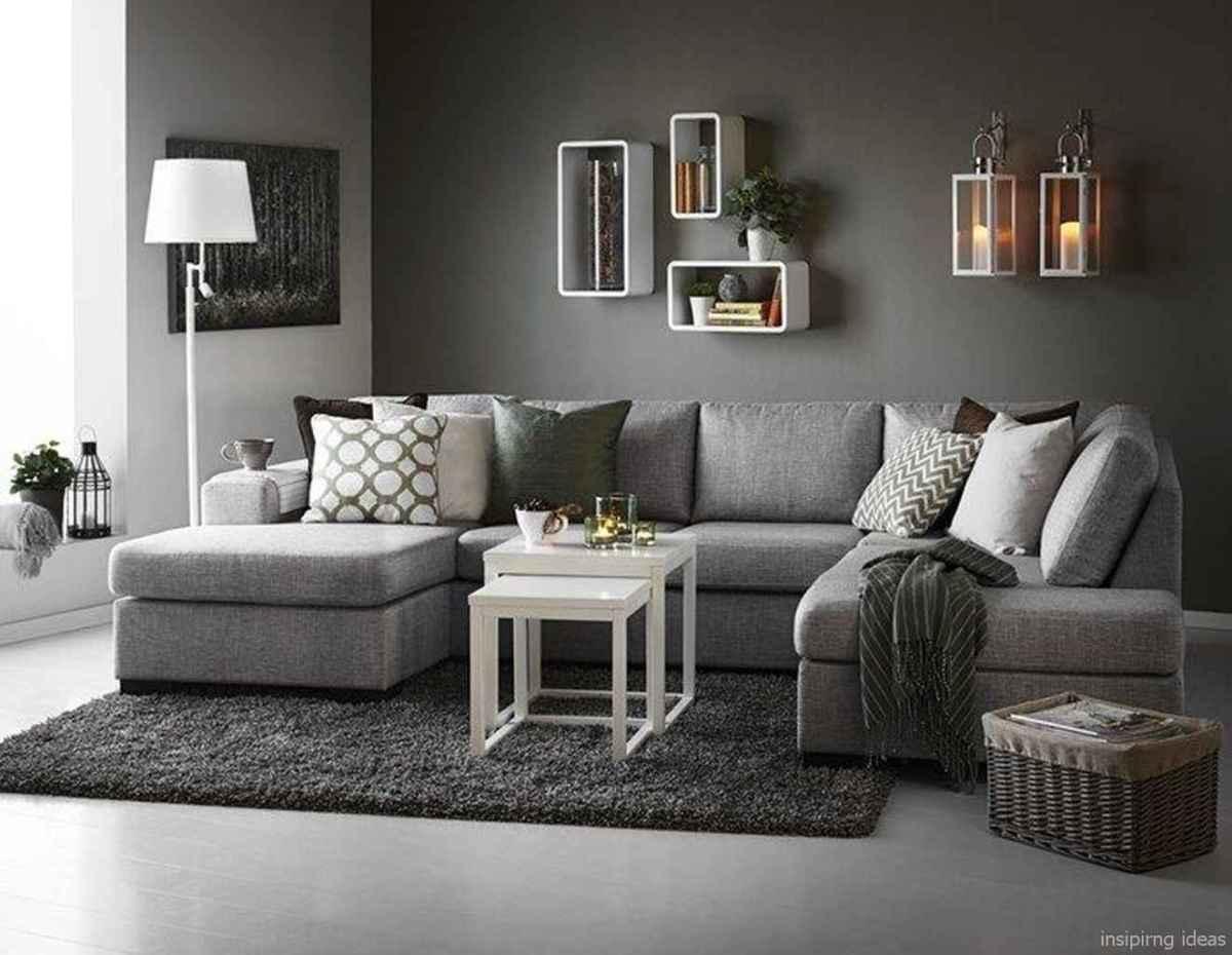 32 Fabulous Modern Gray Living Room Decor Ideas