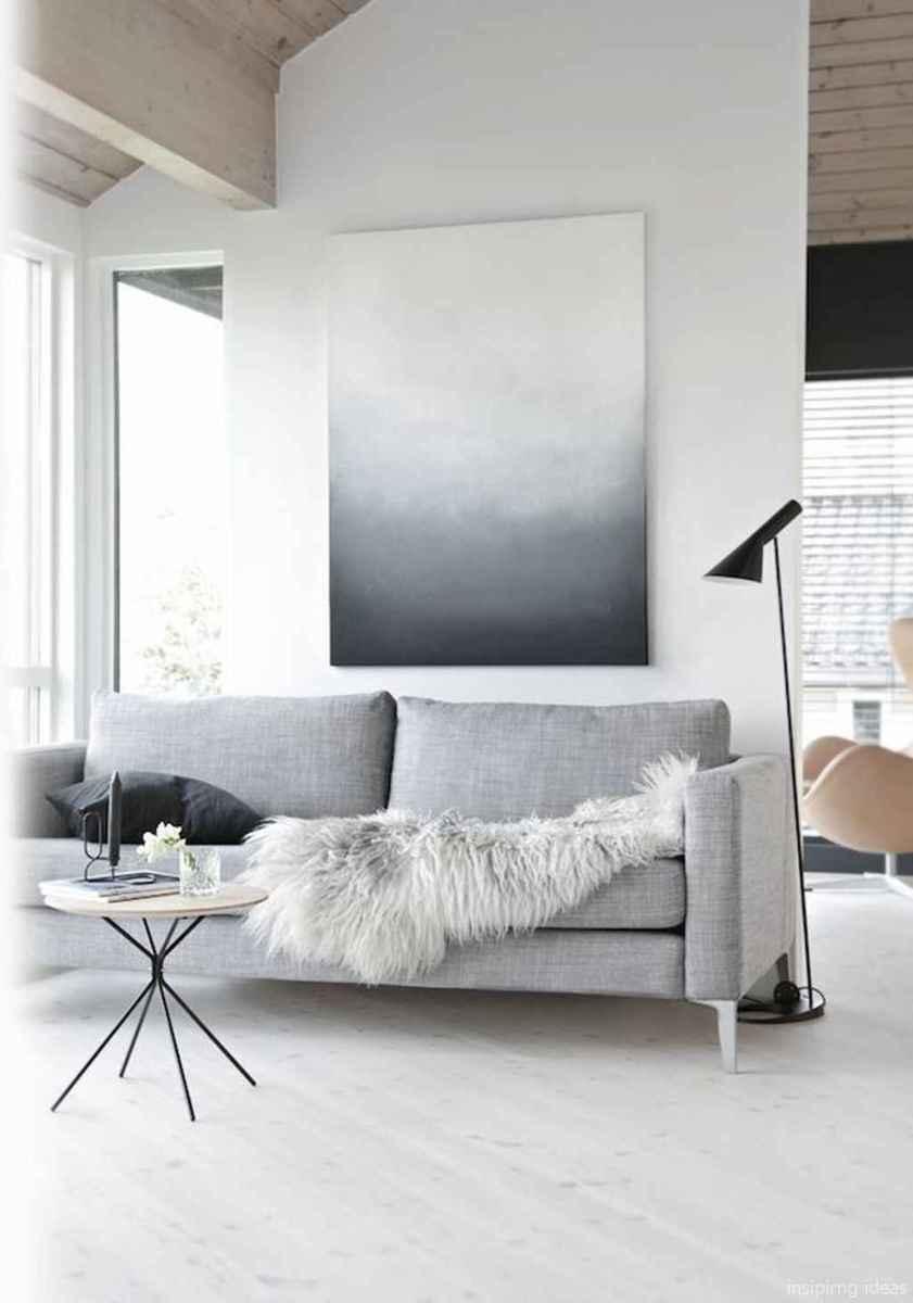 34 Fabulous Modern Gray Living Room Decor Ideas