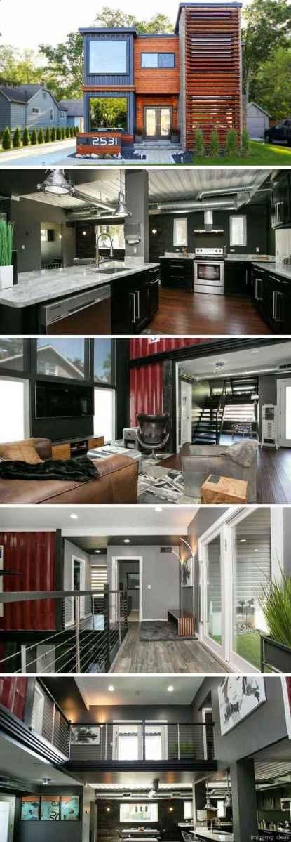 37 Unique Container House Interior Design Ideas