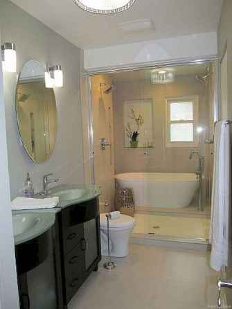38 Genius Small Bathroom Makeover Ideas