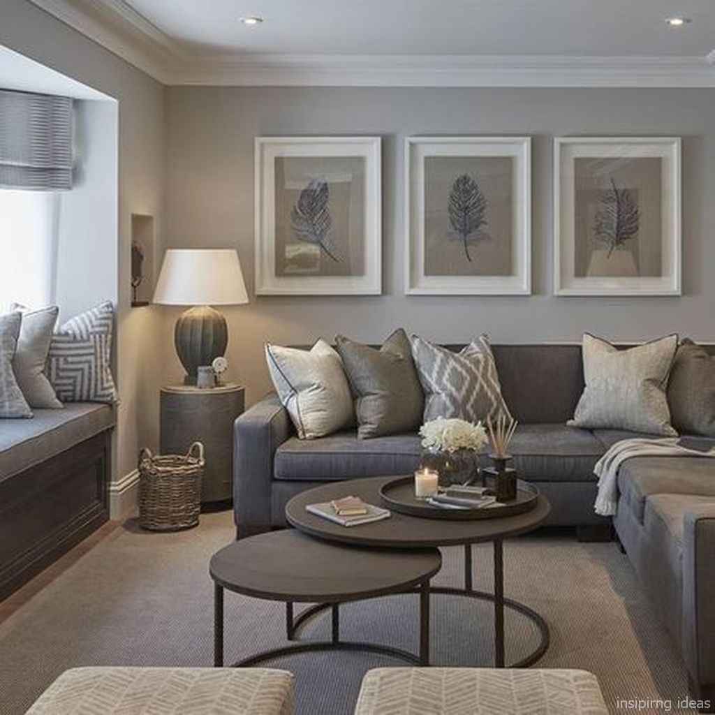 43 Fabulous Modern Gray Living Room Decor Ideas