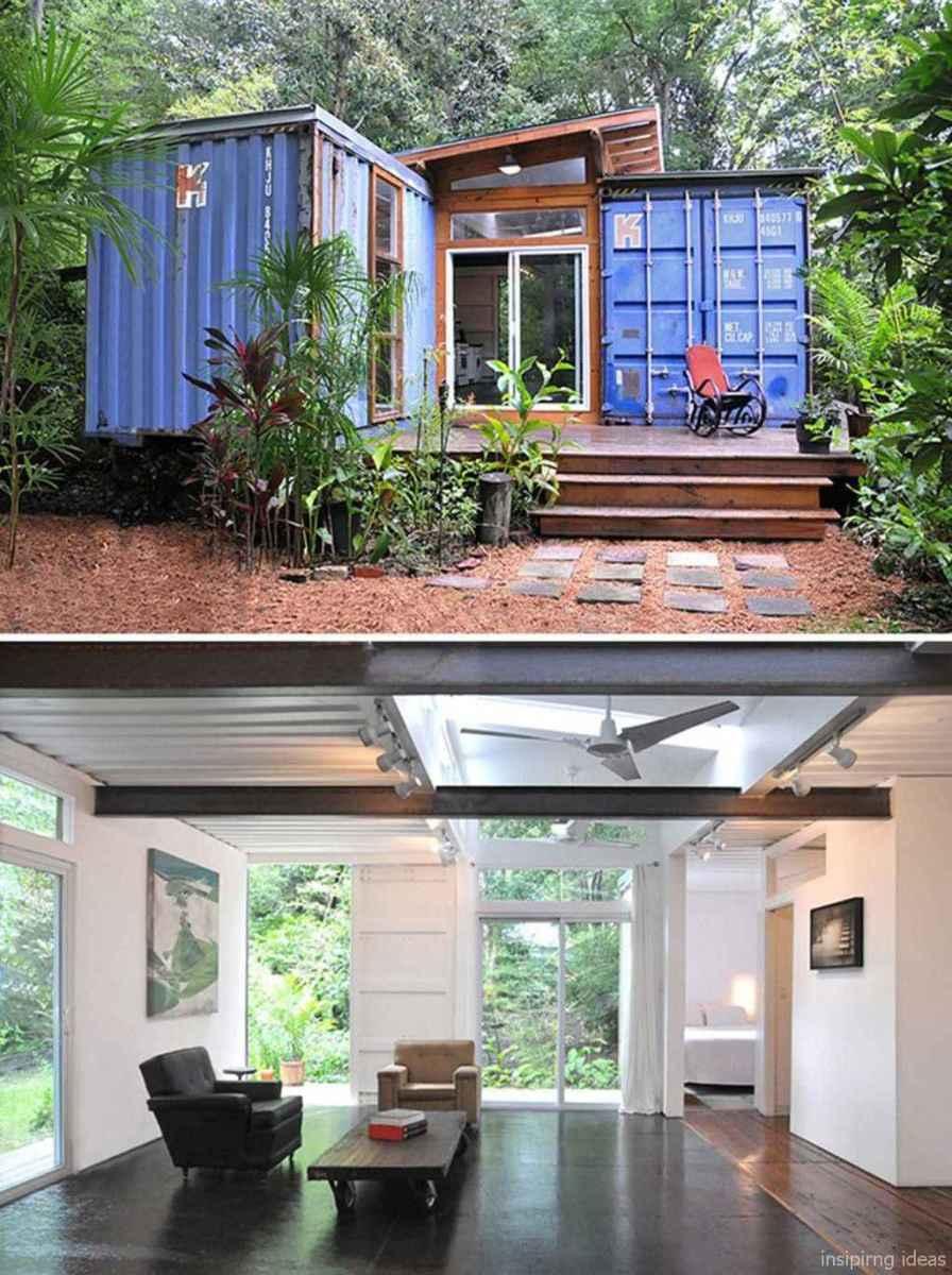 43 Unique Container House Interior Design Ideas