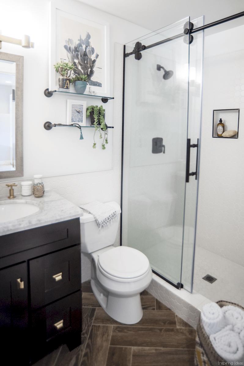 53 Genius Small Bathroom Makeover Ideas
