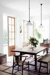 55 Beautiful Modern Farmhouse Dining Room Decor Ideas
