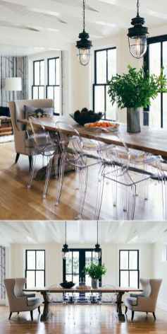 57 Beautiful Modern Farmhouse Dining Room Decor Ideas