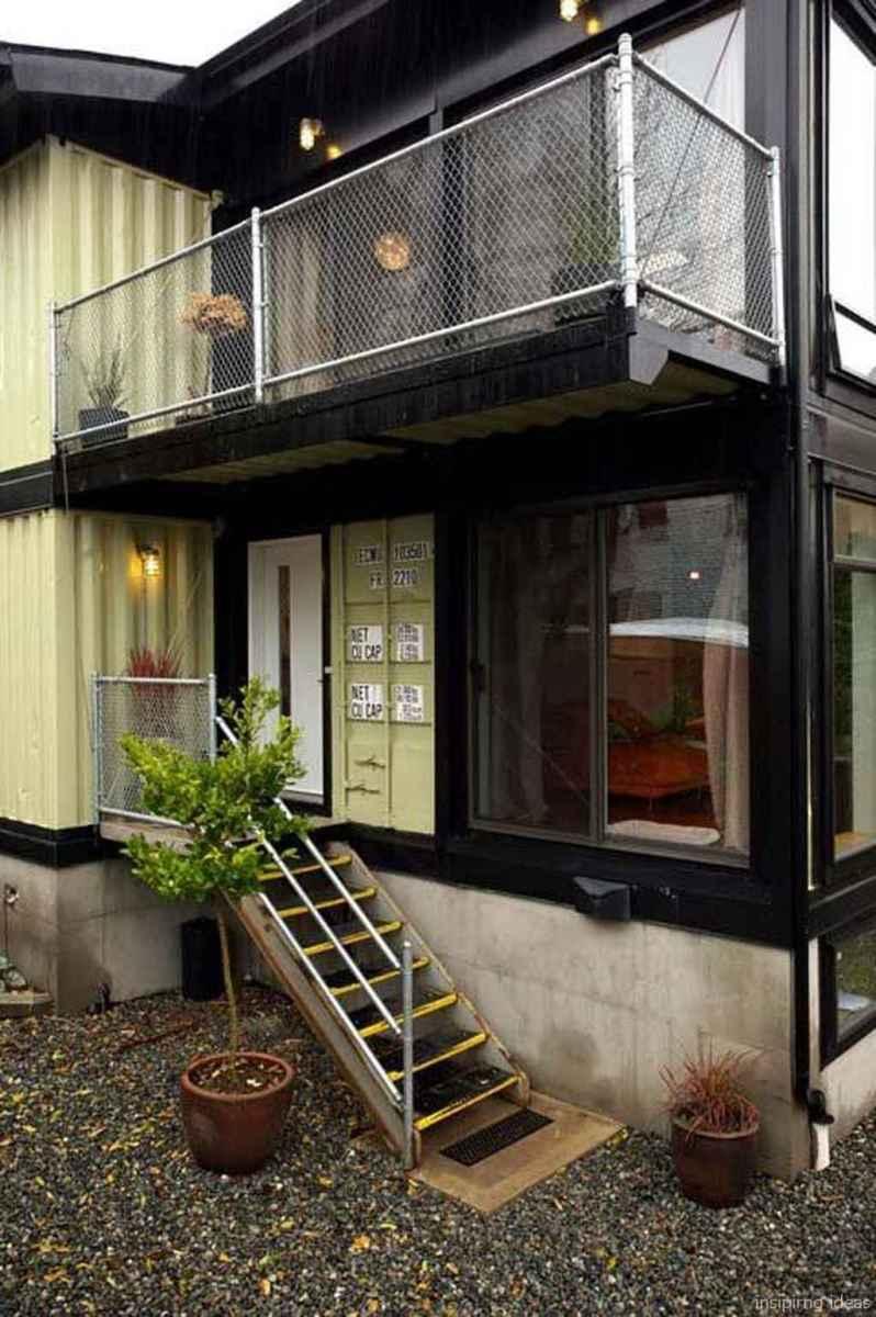 59 Unique Container House Interior Design Ideas