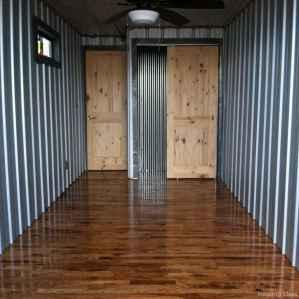 62 Unique Container House Interior Design Ideas