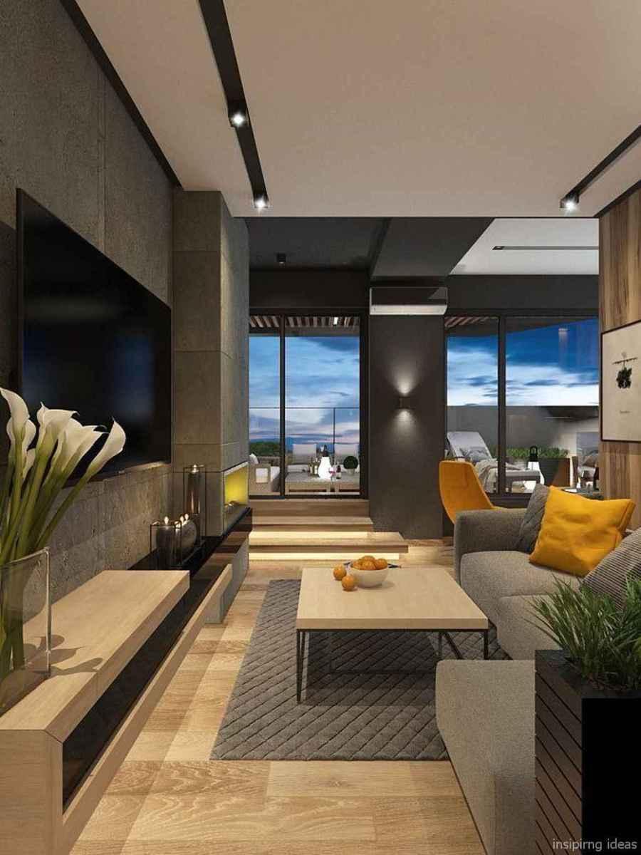 85 Modern Living Room Decor Ideas 48