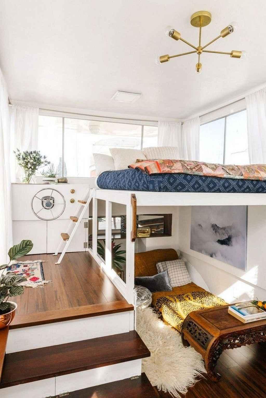 incredible single bedroom ideas   Incredible Tiny House Interior Design Ideas - Lovelyving