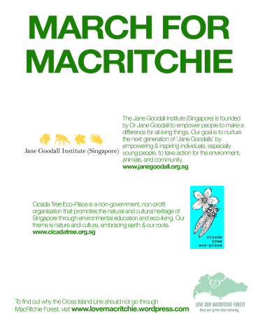 March for Macritchie - orgs writeup2