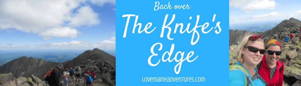 Knife's Edge on Mount Katahdin