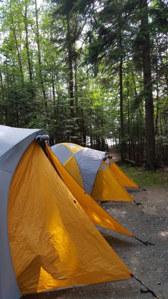 Tent city- Thanks LLBean!