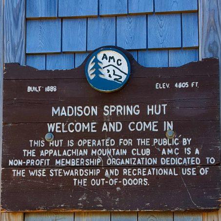 Madison Spring Hut