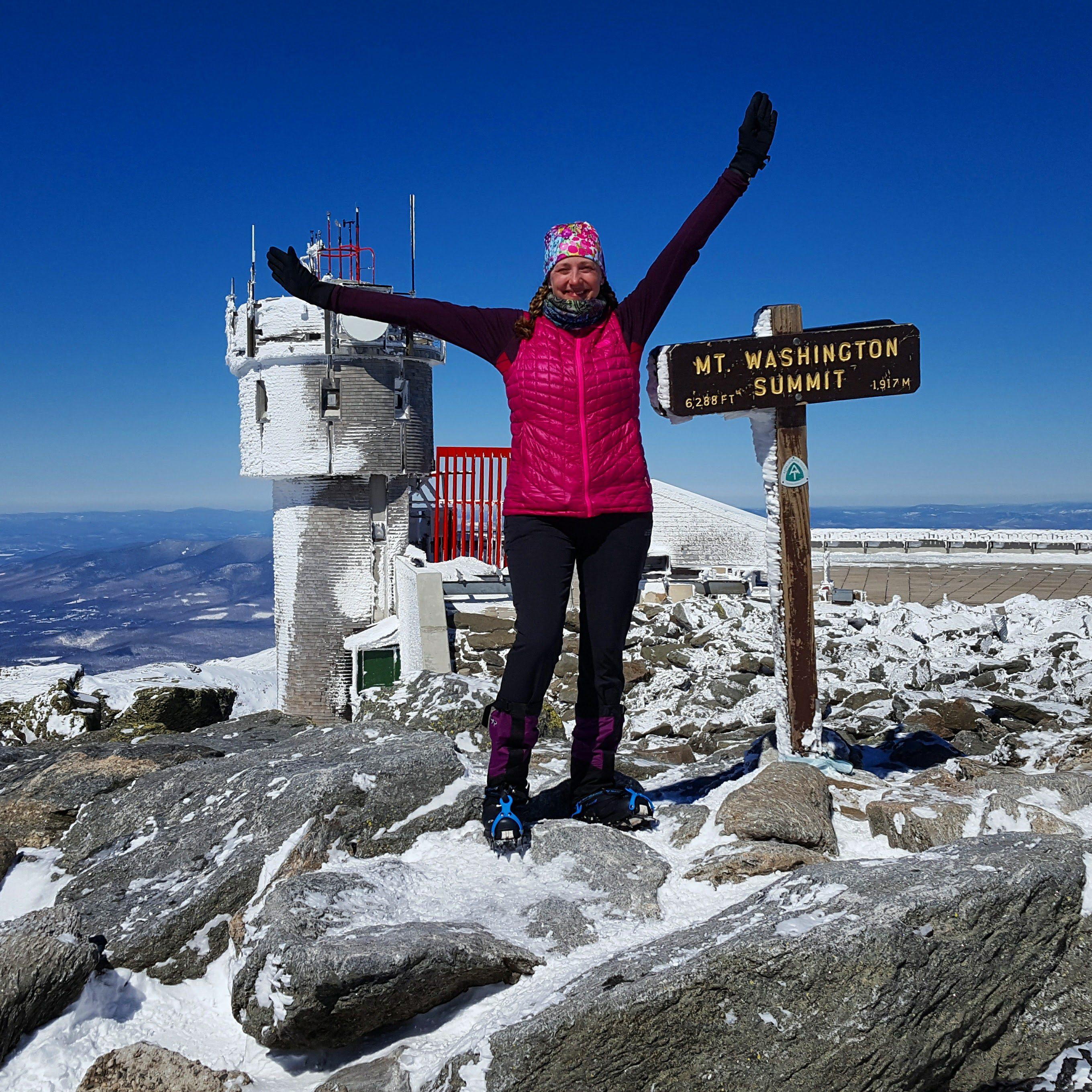 Mount Washington Winter Summit
