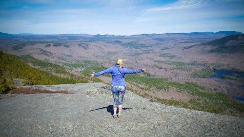 summit of borestone mountain