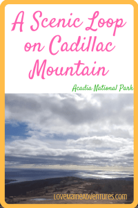 A Scenic Loop on Cadillac Mountain (1)