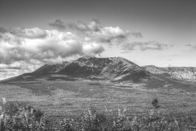 Mount Katahdin from Katahdin Woods and Waters