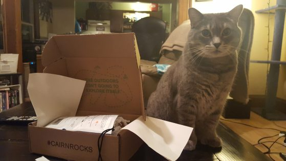 cat box, cairn box, cat in a box, get cairn, gifts for adventurers