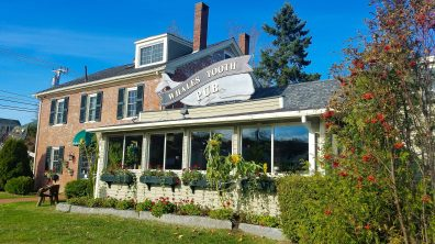 Whale's Tooth Pub Lincolnville Maine, casual waterfront dining