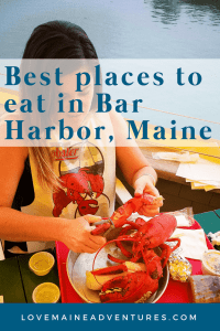 Best places to eat in Bar Harbor, Maine, dining in Bar Harbor Maine