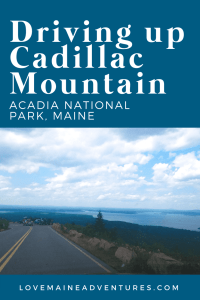 Cadillac Mountain, things to see in Acadia National Park. Mountains in Acadia National Park, Maine