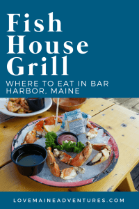 Fish House Grill, where to eat in Bar Harbor