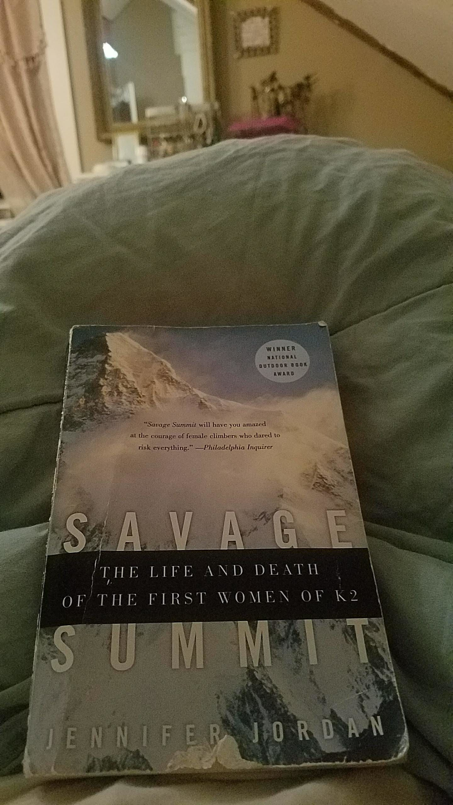 Savage Summit – Book Review