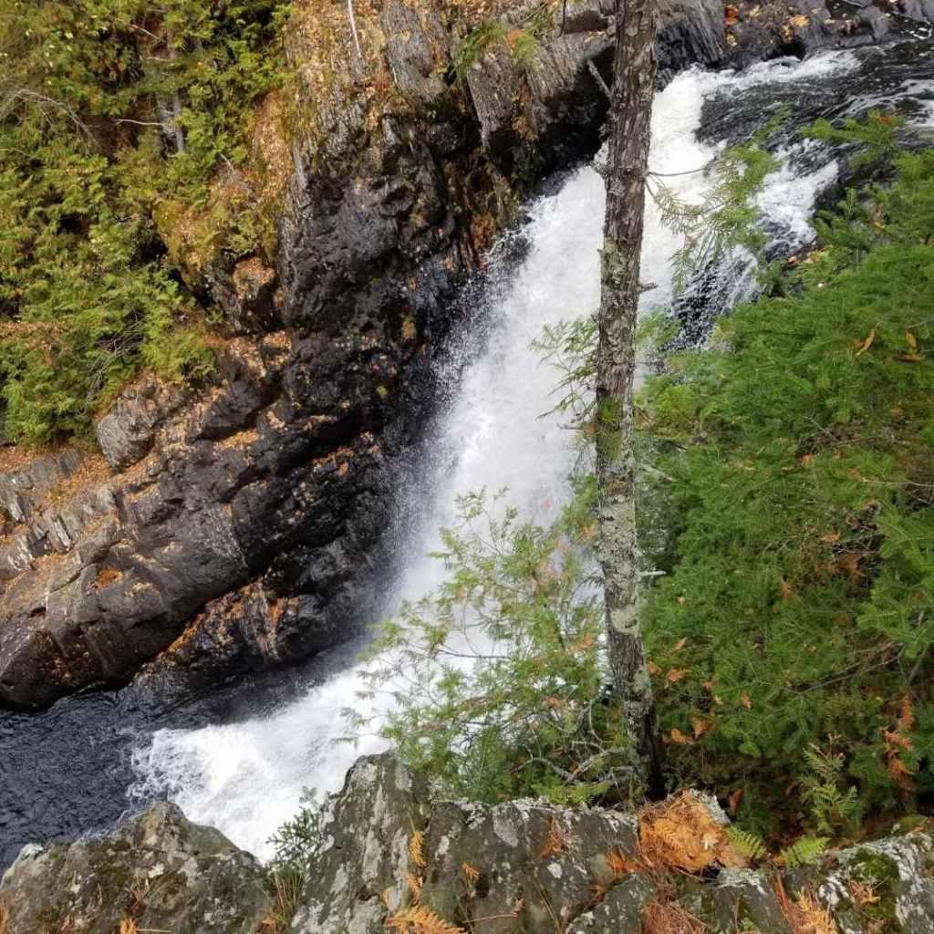Moxie Falls side view