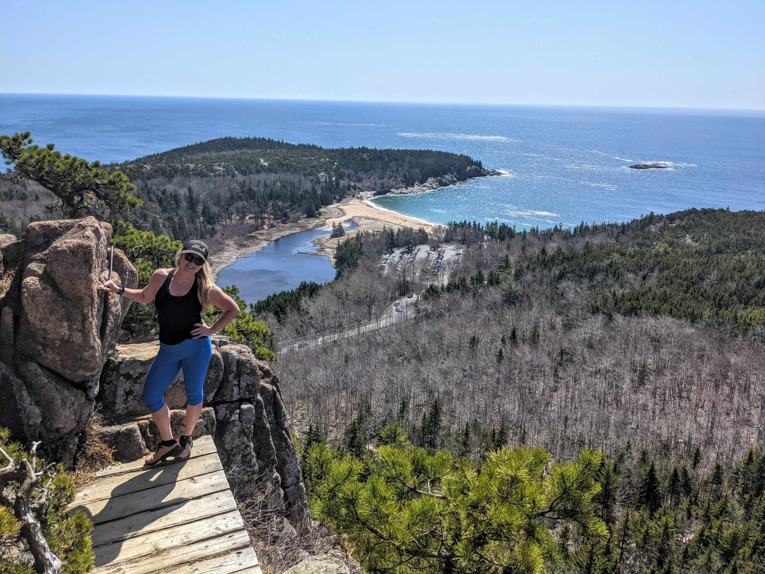 Hiking the Beehive Trail in Acadia National Park