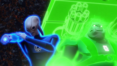 Saint Walker from Green Lantern: The Animated Series. Via GLTAS wiki.