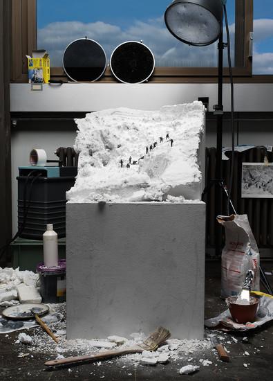 "Making of ""Mont Blanc: la Jonction."" Image credit: ohneitel"