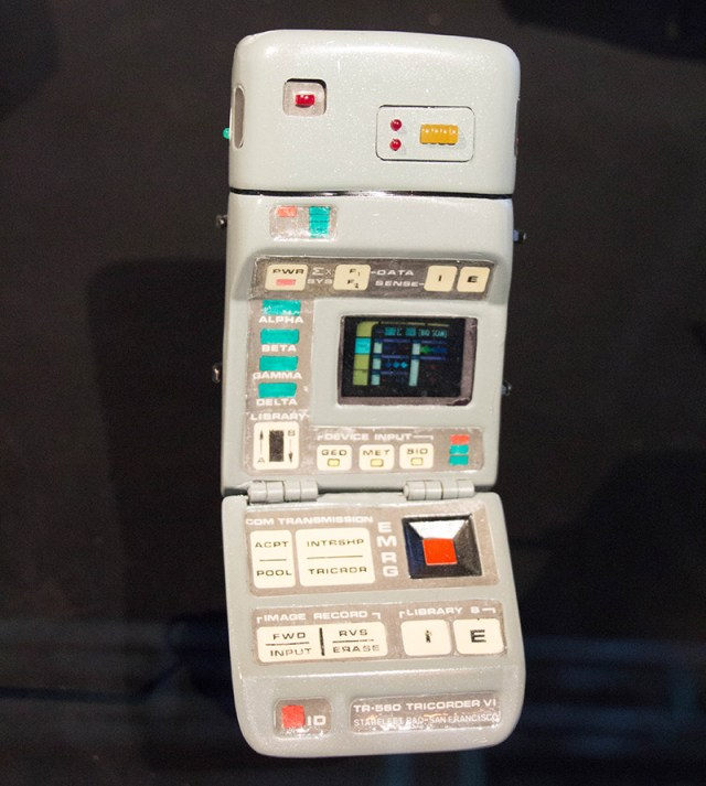 star trek the starfleet academy experience medical tricorder