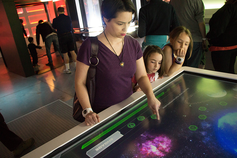 star trek the starfleet academy experience navigation