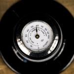 Image: silver Hygrometer