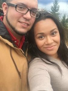 My husband and I in Idaho!