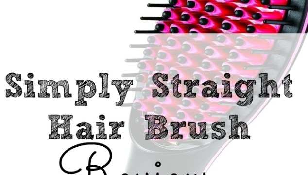Simply Straight Hair Brush Review