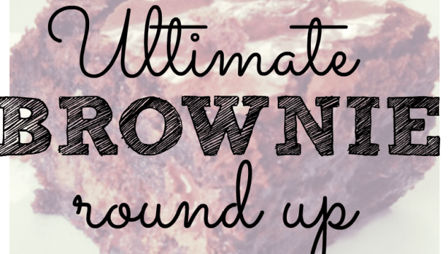 Ultimate Brownies Round Up