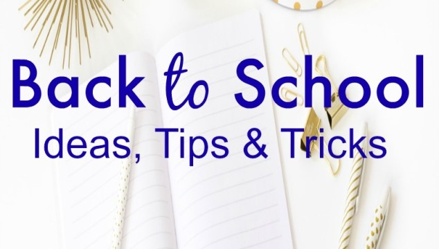 Back to School Round Up