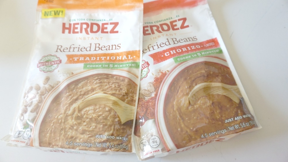 Herdez beans are the perfect side dish for busy nights!