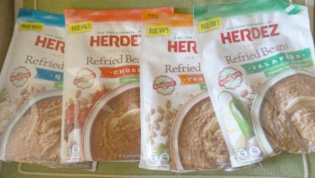 Easy Side Dish For Busy Moms: Herdez Beans