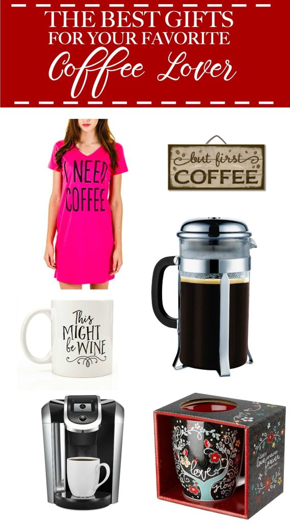 I found a great list of the best gifts for coffee lovers. I am a huge coffee lover and I want all of these for Christmas. Now I know what to get my mom and my nurse friends! Pin now!