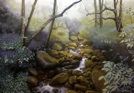 O Rio Paquequer (2014) 70x100 cm, SOLD