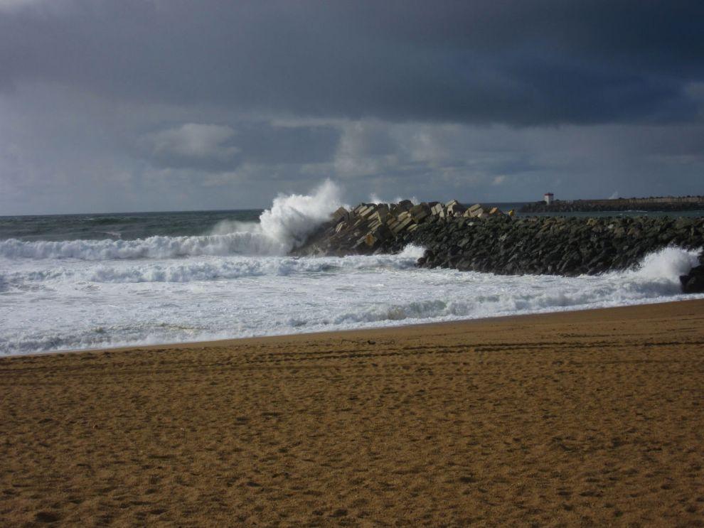 Waves on the Atlantic coast