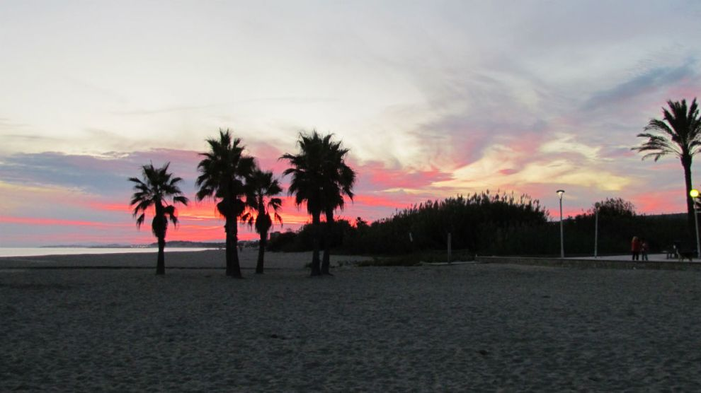 Catalan sunset