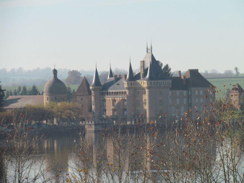 Burgundy chateau