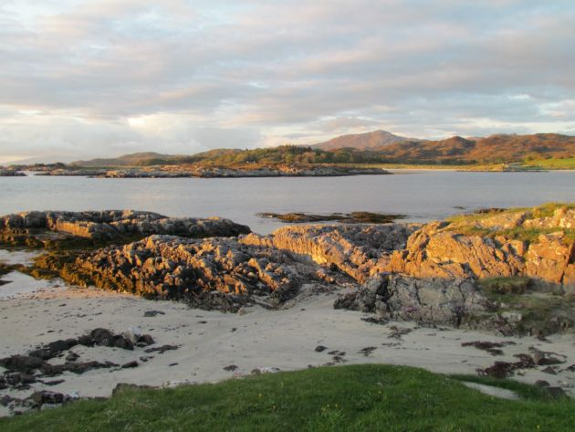 Our beach view Arisaig