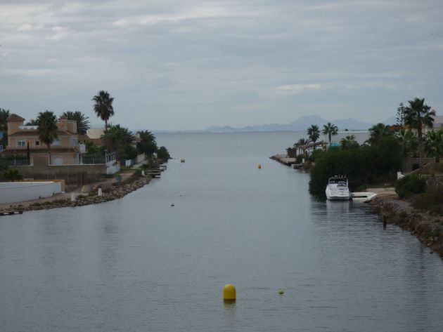 Looking out into Mar Menor