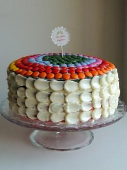 En glad kage