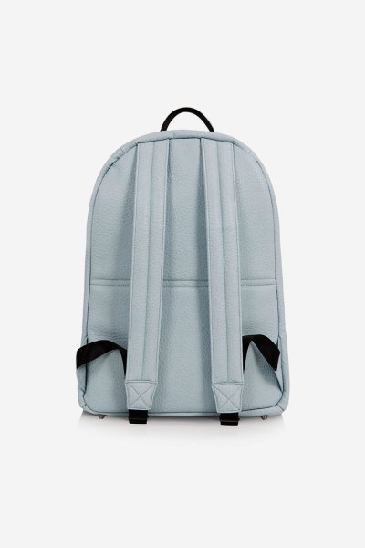 Tiba and Marl Elwood Backpack (blue Faux leather)